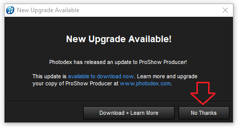 bước 1 Hướng dẫn cài đặt Proshow Producer Crack