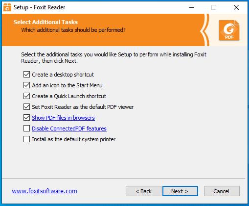 bước 5 hướng dẫn cài đặt Foxit Reader Full Crack