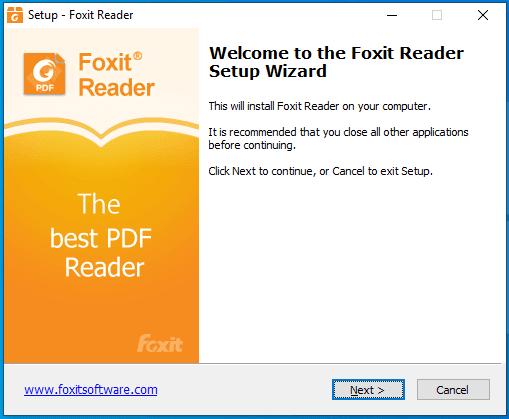Hướng dẫn cài đặt Foxit Reader Full Crack